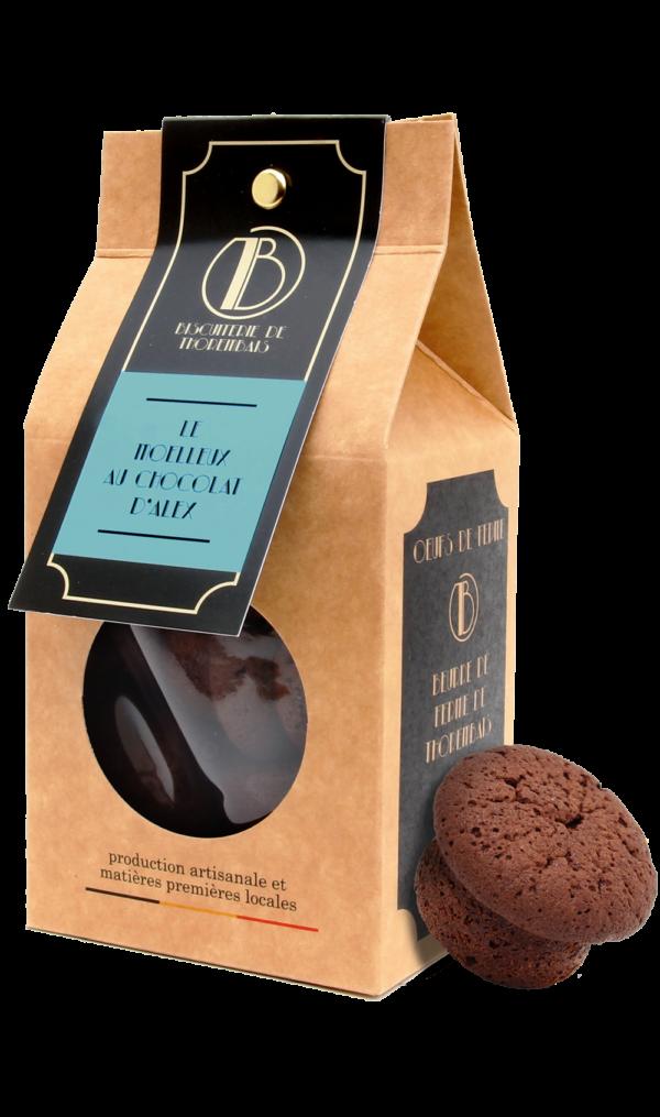 Le paquet de Moelleux au chocolat d'Alex